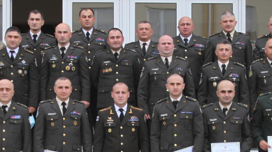 ეროვნული თავდაცვის აკადემიაში სამხედრო სამეცნიერო-პრაქტიკული კონფერენცია გაიმართა