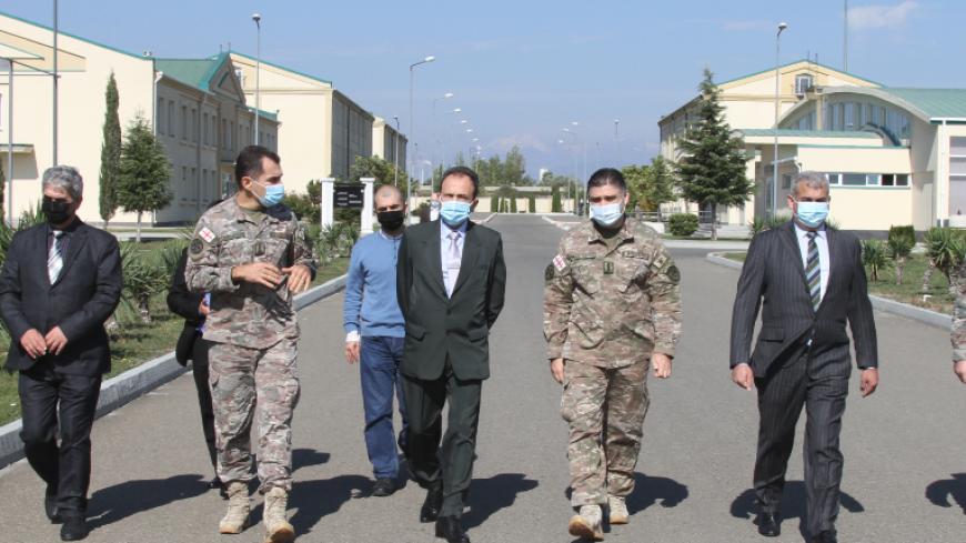 აზერბაიჯანის სამხედრო აკადემიის წარმომადგენლების ვიზიტი ეროვნული თავდაცვის აკადემიაში