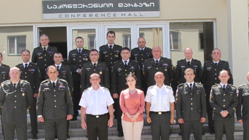 სერჟანტთა სამხედრო სამეცნიერო-პრაქტიკული კონფერენცია აკადემიაში